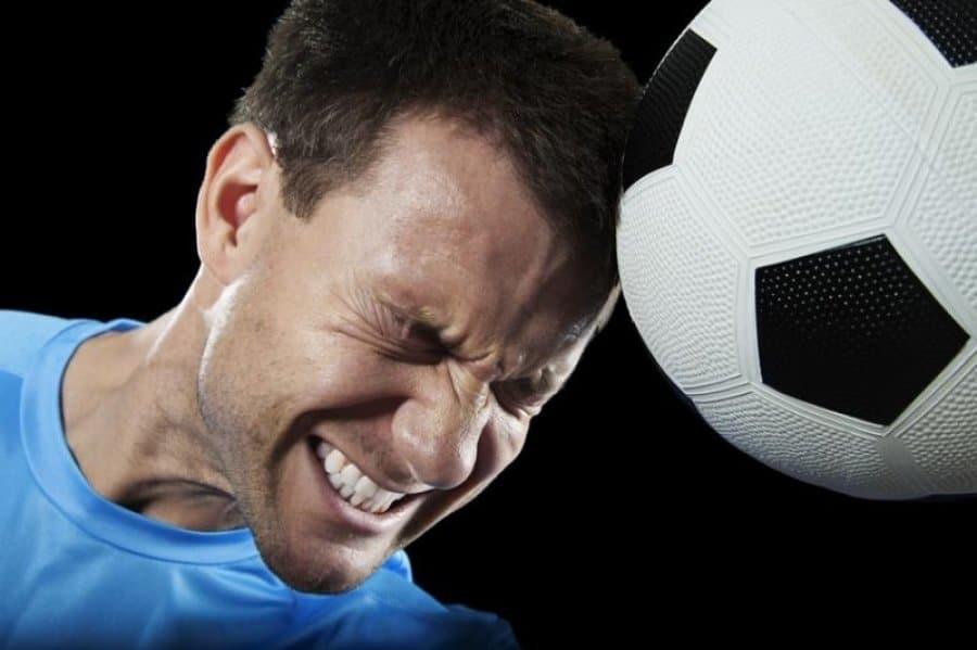 brain damage footbal