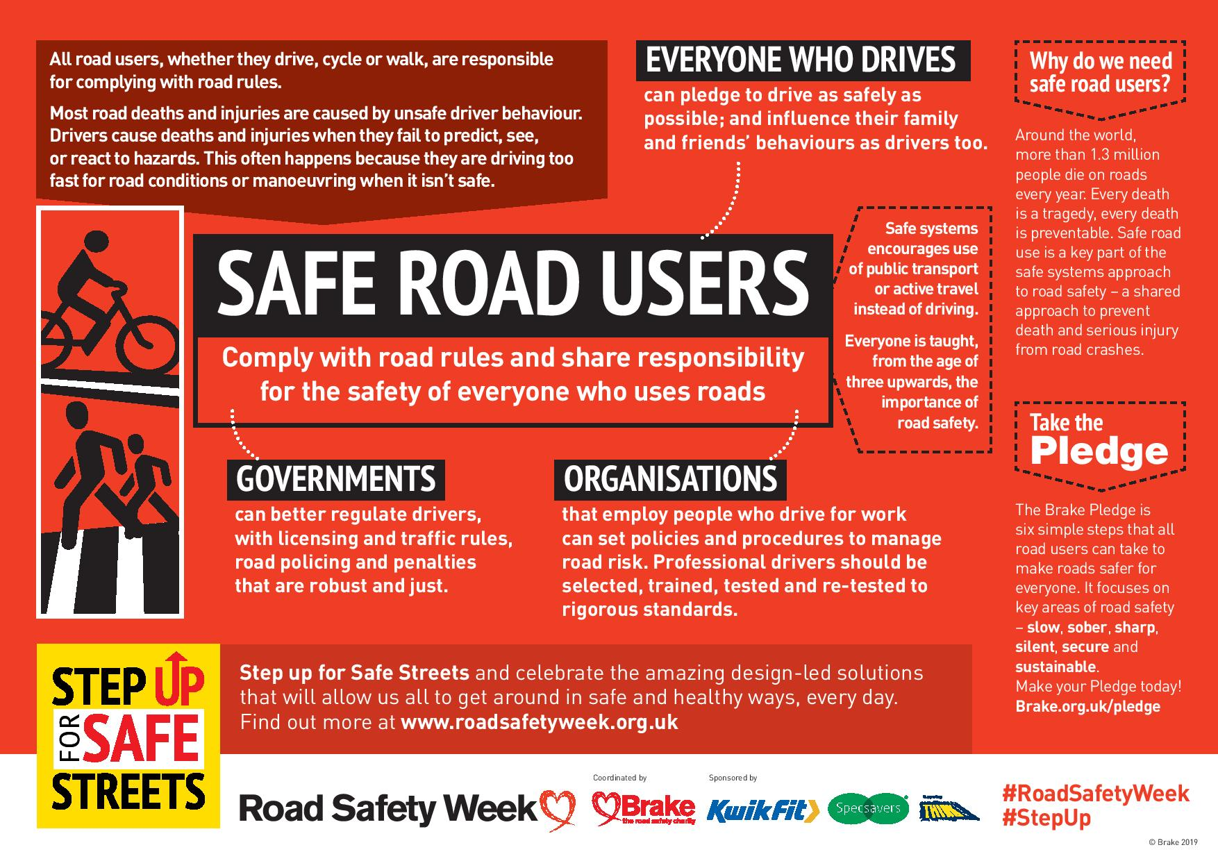 Safe systems factsheets_safe road users